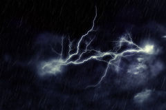 Storm Clouds And Lightning Royalty Free Stock Photography