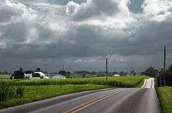 Storm Clouds Approaching Royalty Free Stock Images