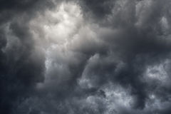 Storm clouds. As an abstract background Royalty Free Stock Photos