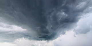 Storm Clouds Background Stock Photography