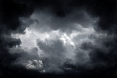 Storm Clouds Background Stock Photo