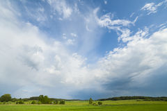 Storm clouds. Bad weather, rainy weather. Stock Photography