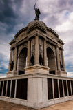 Storm clouds behind the Pennsylvania Memorial, Gettysburg, Penns Royalty Free Stock Photo