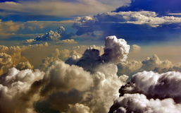 Storm Clouds Brewing over South China Sea, Vietnam Stock Photo