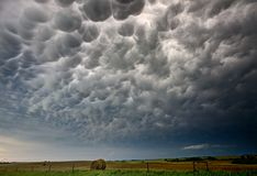 Storm Clouds Canada Royalty Free Stock Photography