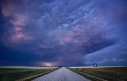Storm Clouds Canada Royalty Free Stock Image