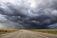 Storm Clouds Canada royalty free stock photo