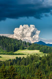 Storm clouds before evening Royalty Free Stock Photos