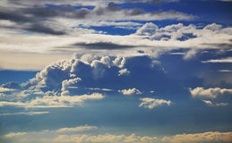 Storm clouds Stock Images