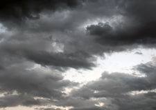 Storm Clouds Fill Skies Royalty Free Stock Images