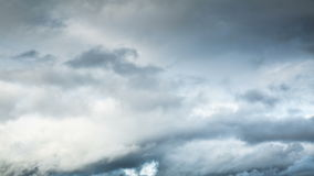 Storm clouds flying with wind stock footage