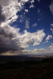 Storm clouds forming Stock Image