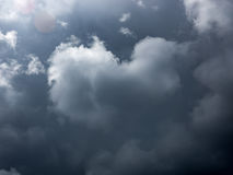 Storm Clouds in France. Storm clouds in the sky of france Stock Photos