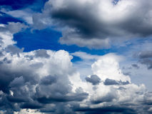 Storm Clouds in France. Storm clouds in the sky of france Royalty Free Stock Photo