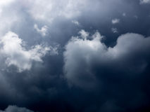Storm Clouds in France. Storm clouds in the sky of france Stock Images