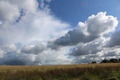 Storm clouds gather stock photos