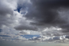 Storm Clouds Gathering Stock Photography