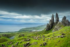 The Old Man of Storr Stock Image
