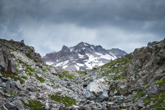 Storm clouds, Mt. hood, Oregon Royalty Free Stock Image