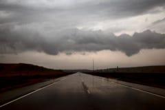 Storm Clouds North Dakota stock photos