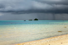 Storm clouds over the Andaman Sea Stock Images