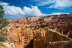 Storm clouds over Bryce Canyon Royalty Free Stock Photos