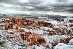 Storm Clouds Over Bryce Stock Photography