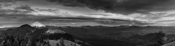 Storm Clouds Over The Cascades