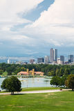 Storm Clouds Over Denver royalty free stock photography