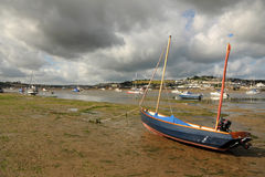 Storm clouds over the estuary Royalty Free Stock Photography