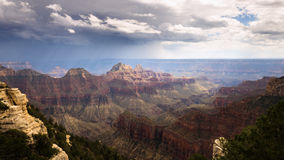 Storm Clouds over Grand Canyon Royalty Free Stock Images