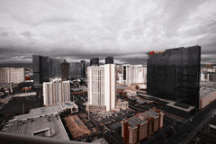 Storm Clouds over Las Vegas Stock Photos