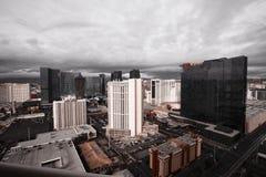 Storm Clouds over Las Vegas Stock Photos