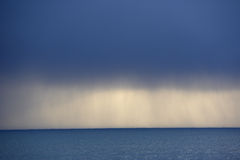Storm Clouds over the ocean Stock Photography