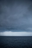 Storm Clouds Over the Ocean Stock Image