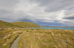 Storm Clouds over the Patagonian Highlands Stock Photography