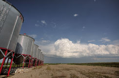 Storm clouds over Saskatchewan Stock Photography