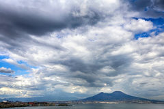 Storm clouds over the sea Royalty Free Stock Photography