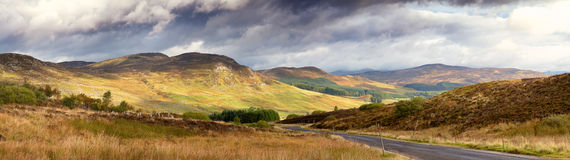 Storm Clouds Over The Glen Royalty Free Stock Image