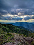 Storm clouds over Vitosha mountain, Sofia, Bulgaria Stock Photos