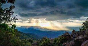 Storm clouds over Vitosha mountain, Sofia, Bulgaria Stock Photography
