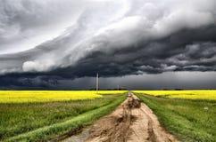 Storm Clouds Prairie Stock Photos