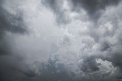 Storm clouds before rain Royalty Free Stock Images
