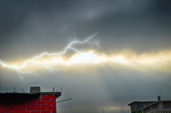Storm Clouds and Rain Royalty Free Stock Images