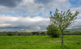 Storm Clouds and A Rainbow II Royalty Free Stock Photography