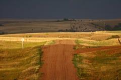 Storm clouds in Saskatchewan Royalty Free Stock Photos