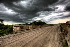 Storm Clouds Saskatchewan Royalty Free Stock Photography