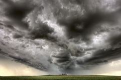 Storm Clouds Saskatchewan Royalty Free Stock Photos