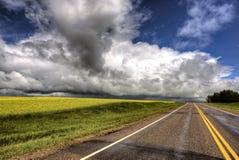 Storm Clouds Saskatchewan Royalty Free Stock Image
