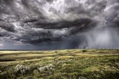 Storm Clouds Saskatchewan Royalty Free Stock Photography